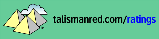talisman red ratings  logo